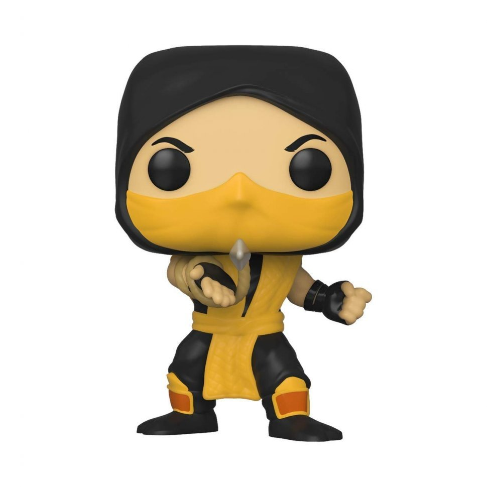 Фигурка Funko Pop Mortal Kombat - Scorpion Фанко Мортал комбат Скорпион 537