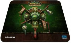 Коврик STEELSERIES QcK  World of Warcraft: Pandaren Crest