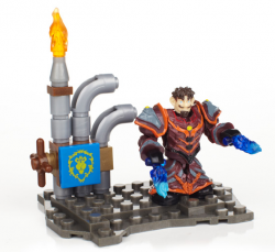 Mega Bloks World of Warcraft Set: gnom warlock