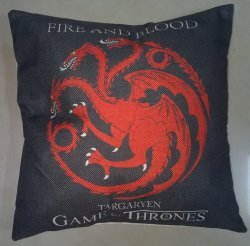 Наволочка Game of Thrones (Cotton & Linen) Targaryen