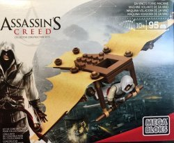 Конструктор Mega Bloks Assassins Creed - DA VINCI'S FLYING MACHINE