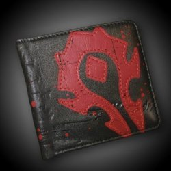 Кошелёк - World of Warcraft Horde Crest Leather Wallet