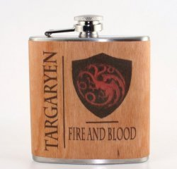 Фляга Game of Throne  Targaryen 6 oz