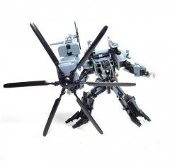 Фигурка Transformers Decepticon Blackout robot Action figure