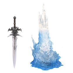 World of Warcraft: Wrath of the LICHKING SWORD WITH BLUE LIGHT