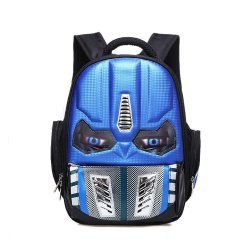 Рюкзак Transformers School Backpack Waterproof (синий)