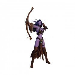 Фигурка BLIZZARD WARCRAFT SHANDRIS FEATHERMOON NIGHT ELF MOC 2003