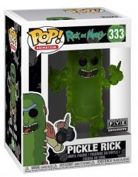 Фигурка Фанко Рик и Морти Funko Pop! Rick and Morty - Pickle Rick 333 FYE Exclusive