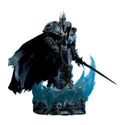 World of Warcraft Arthas Menethil the Lich King Polystone Statue Sideshow