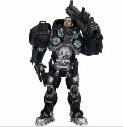 Starcraft II Jim Raynor Terran Marshal Action Figure