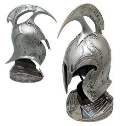 The Hobbit Rivendell Elf Helm Prop Replica United Cutlery